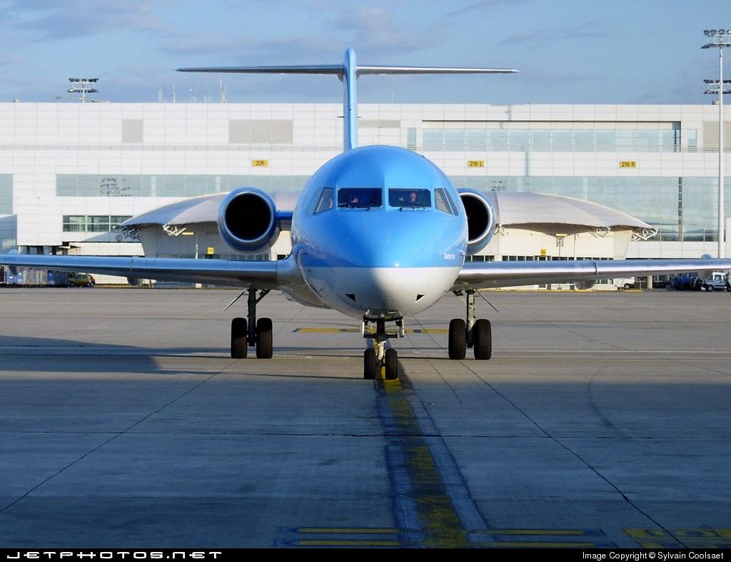 OO-TUF | Fokker 100 | Jetairfly | Sylvain Coolsaet | JetPhotos