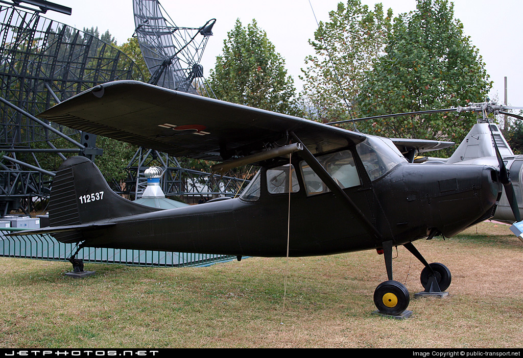 112537 - Cessna O-1 Bird Dog - South Korea - Air Force