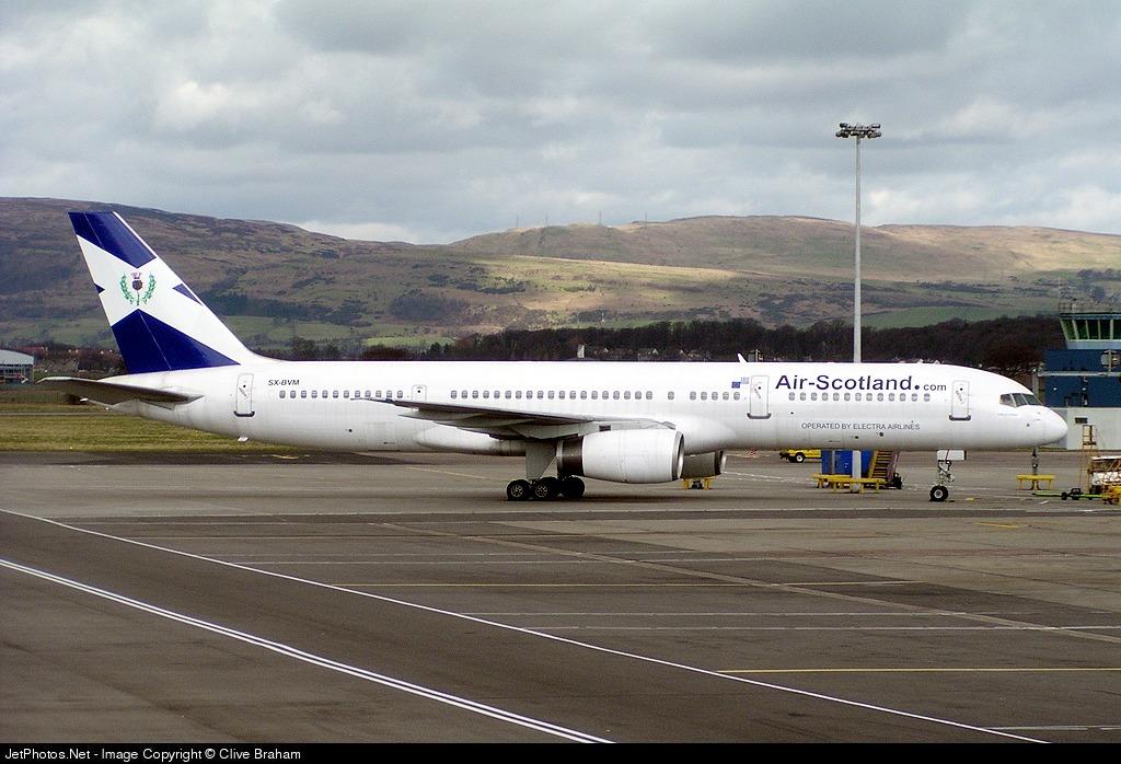 SX-BVM - Boeing 757-2G5 - Air Scotland (Electra Airlines)