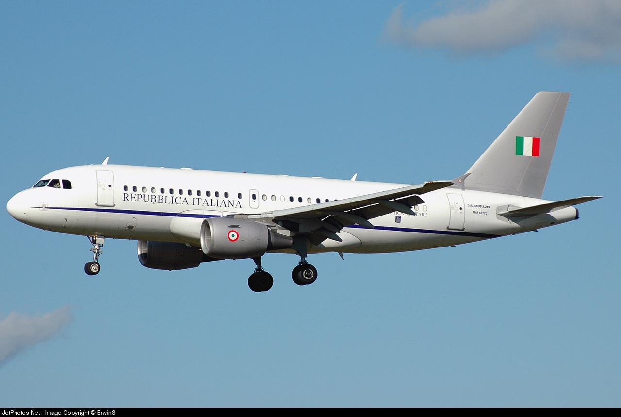 MM62173 - Airbus A319-115X - Italy - Air Force