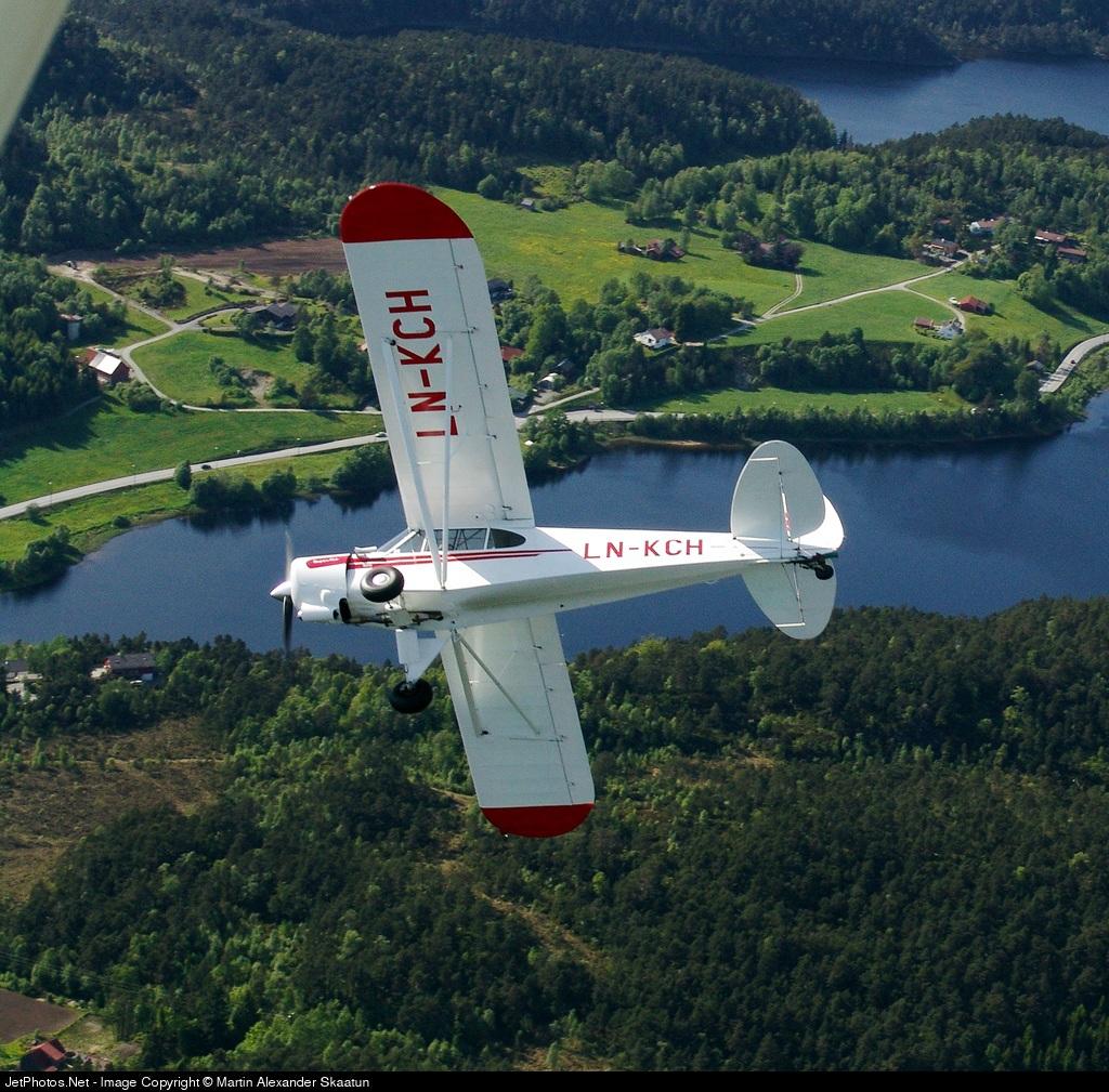 LN-KCH - Piper PA-18-180 Super Cub - Elverum Flyklubb