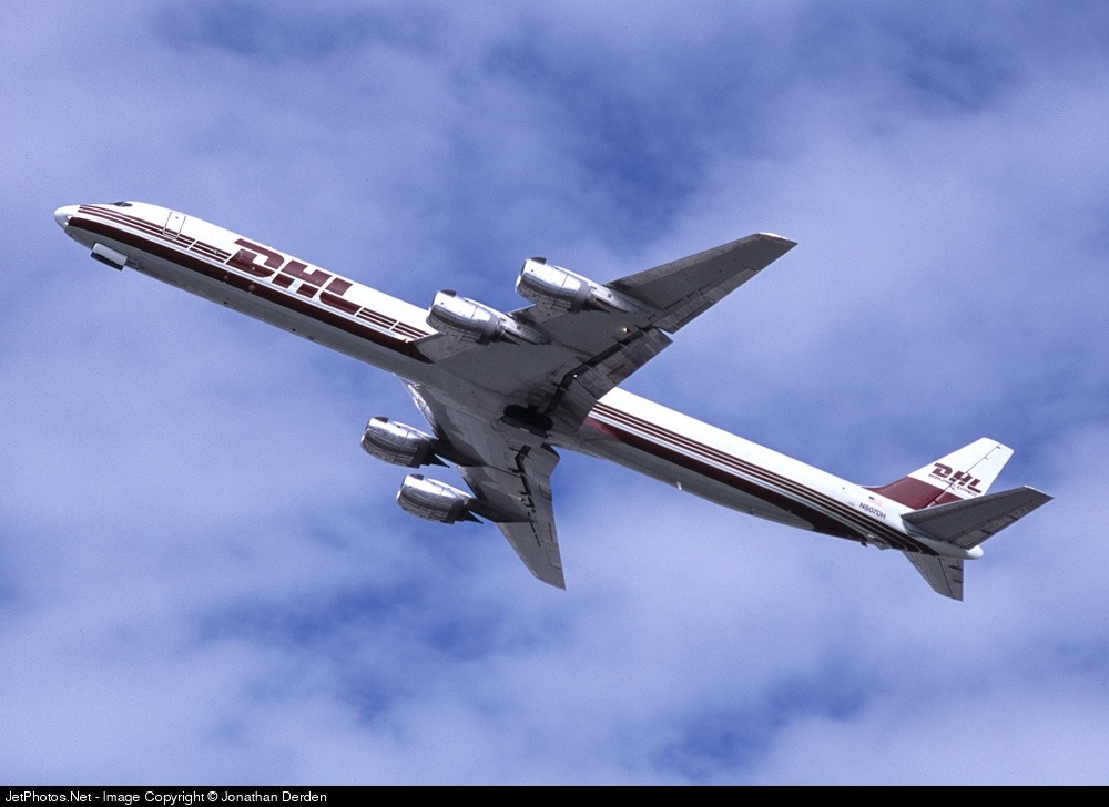 N807DH - Douglas DC-8-73(F) - DHL Airways