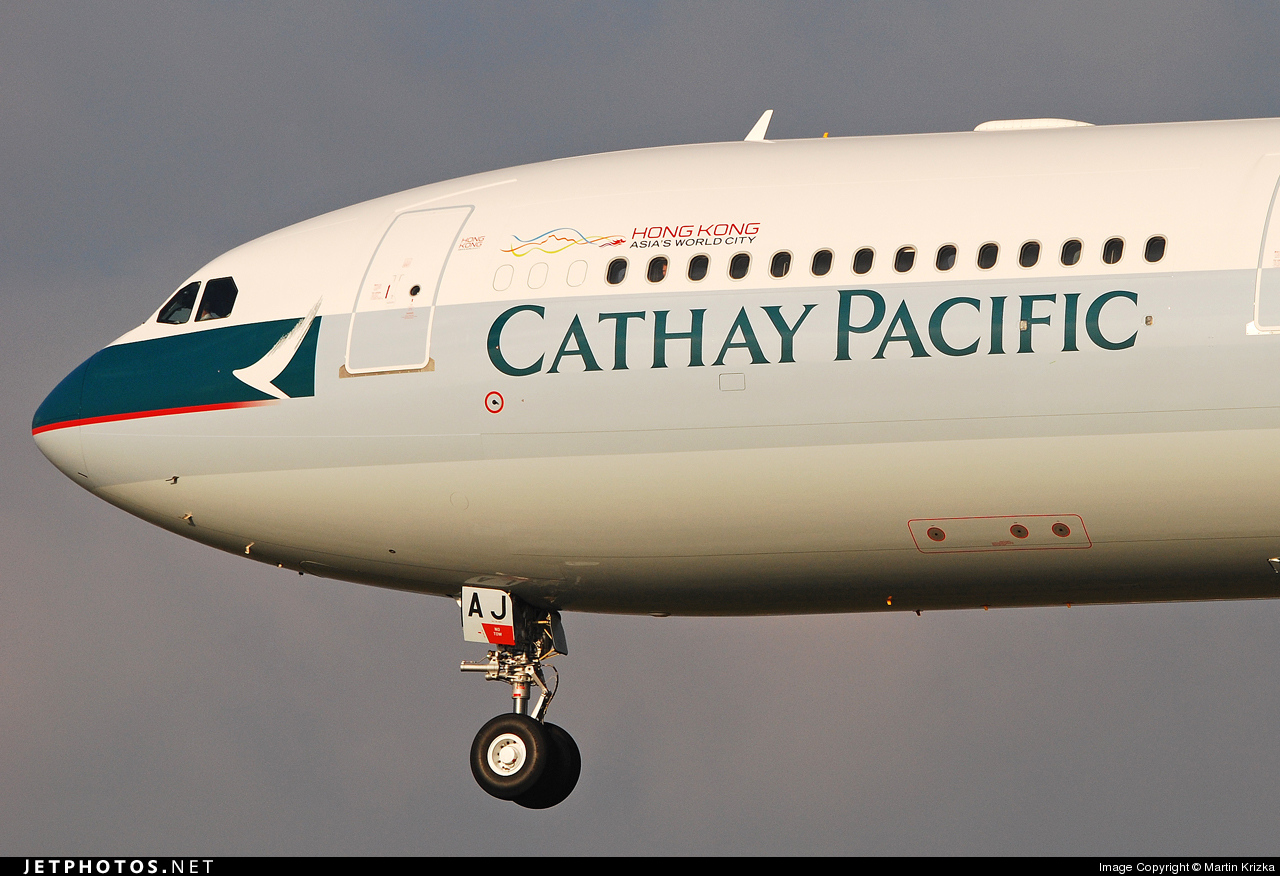 F-WWKR - Airbus A330-343 - Cathay Pacific Airways