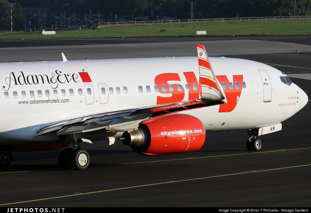 TC-SKR - Boeing 737-83N - Sky Airlines
