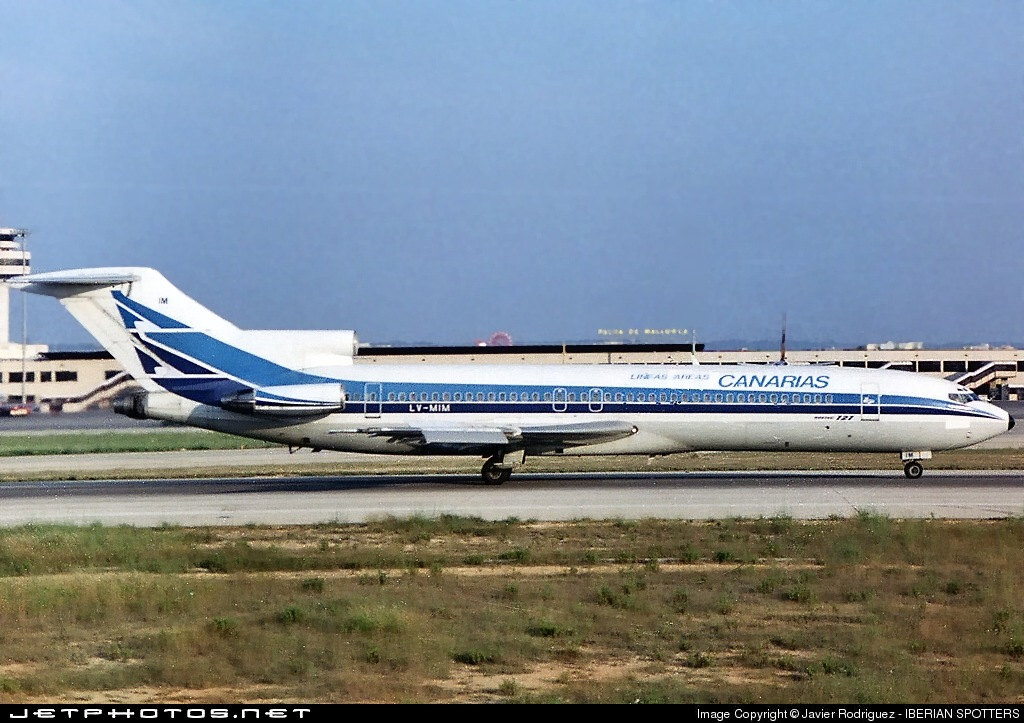 LV-MIM - Boeing 727-287(Adv) - Líneas Aéreas Canarias (Aerolíneas Argentinas)