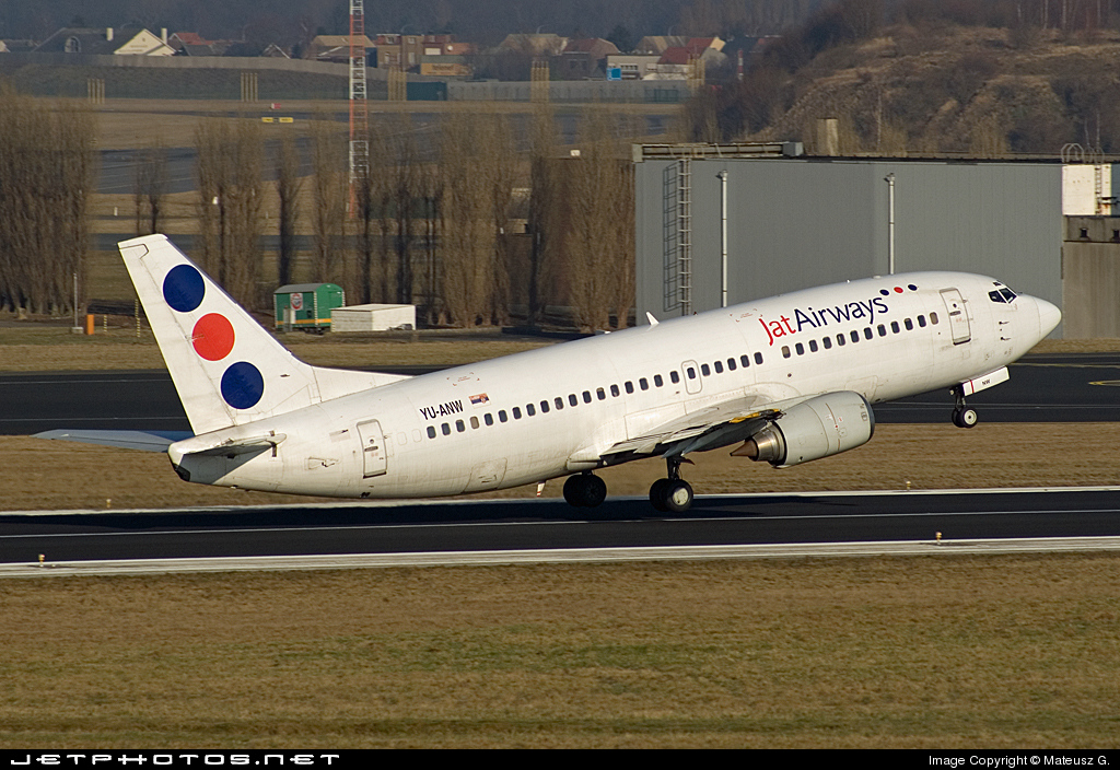 YU-ANW - Boeing 737-3H9 - Jat Airways