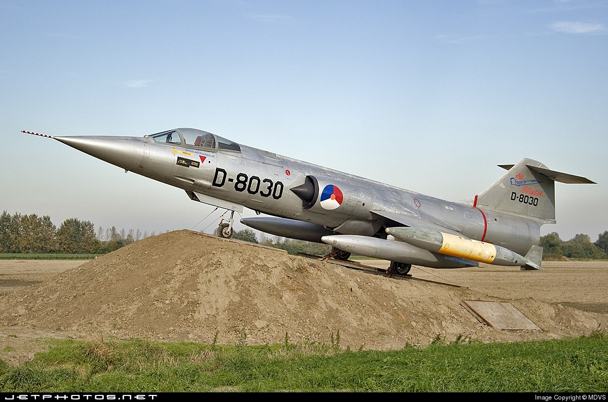 D-8030 - Lockheed F-104 Starfighter - Netherlands - Royal Air Force