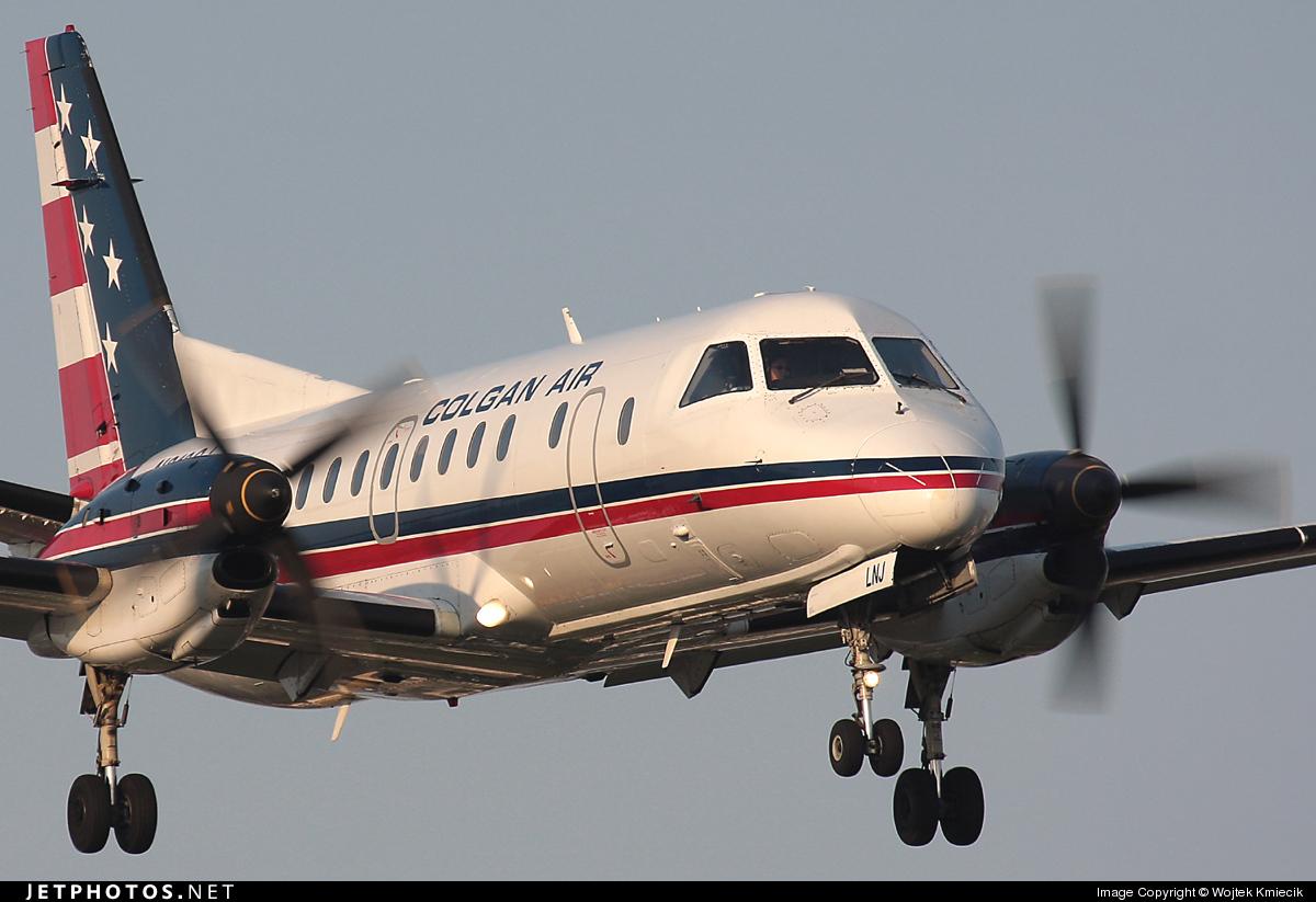 N210CJ - Saab 340B - Colgan Air