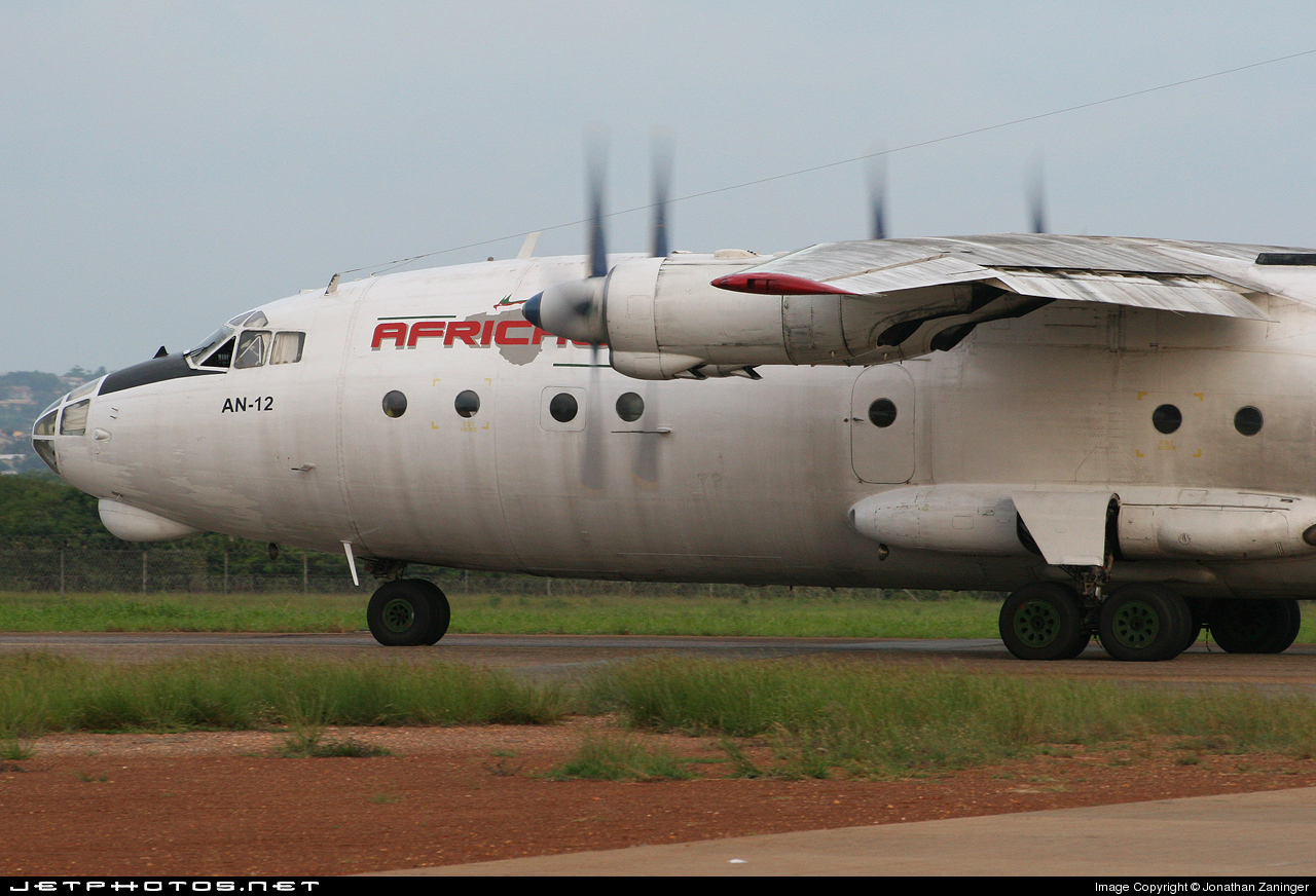 S9-DBA - Antonov An-12BP - Africawest Cargo