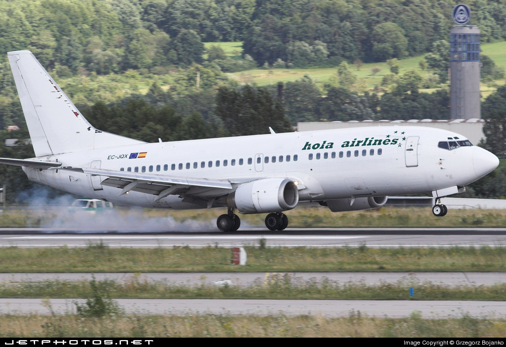 EC-JQX - Boeing 737-329 - Hola Airlines