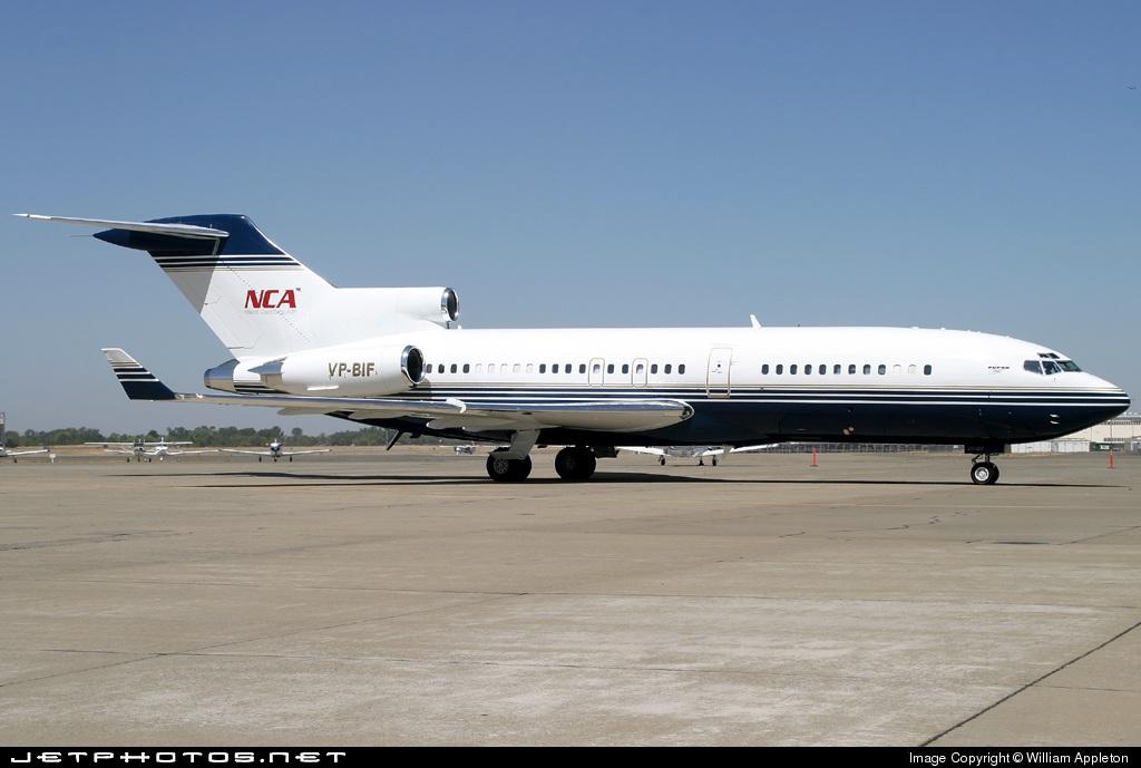 VP-BIF - Boeing 727-1H2 - Private