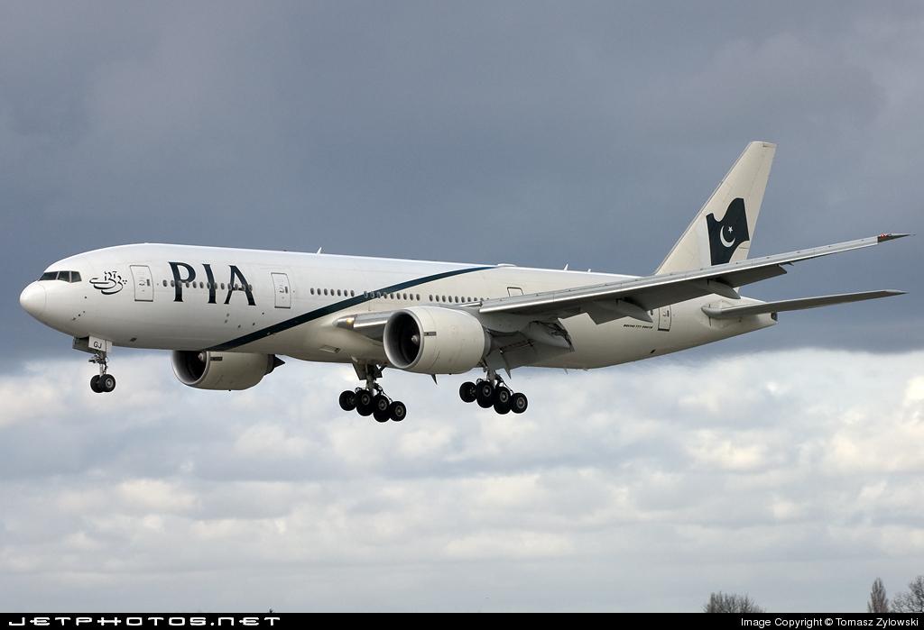 AP-BGJ - Boeing 777-240(ER) - Pakistan International Airlines (PIA)