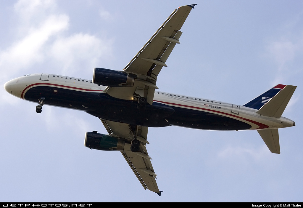N657AW - Airbus A320-232 - US Airways (America West Airlines)