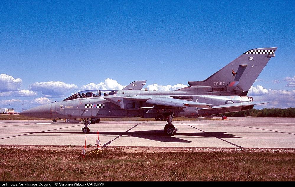 ZE157 - Panavia Tornado F.3T - United Kingdom - Royal Air Force (RAF)
