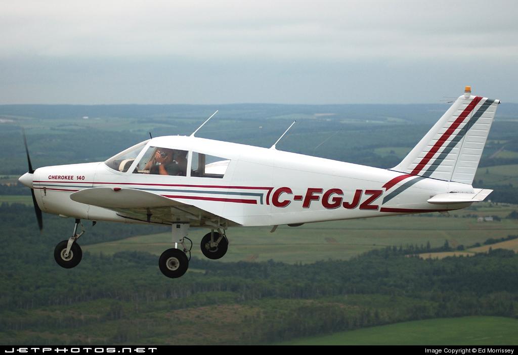 C-FGJZ - Piper PA-28-140 Cherokee B - Private