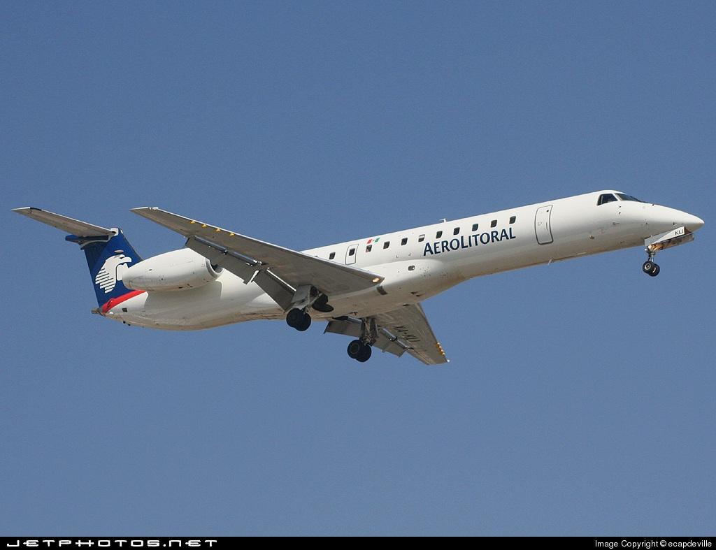 XA-KLI - Embraer ERJ-145LR - Aerolitoral