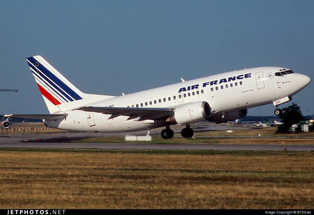 F-GJNY - Boeing 737-5H6 - Air France