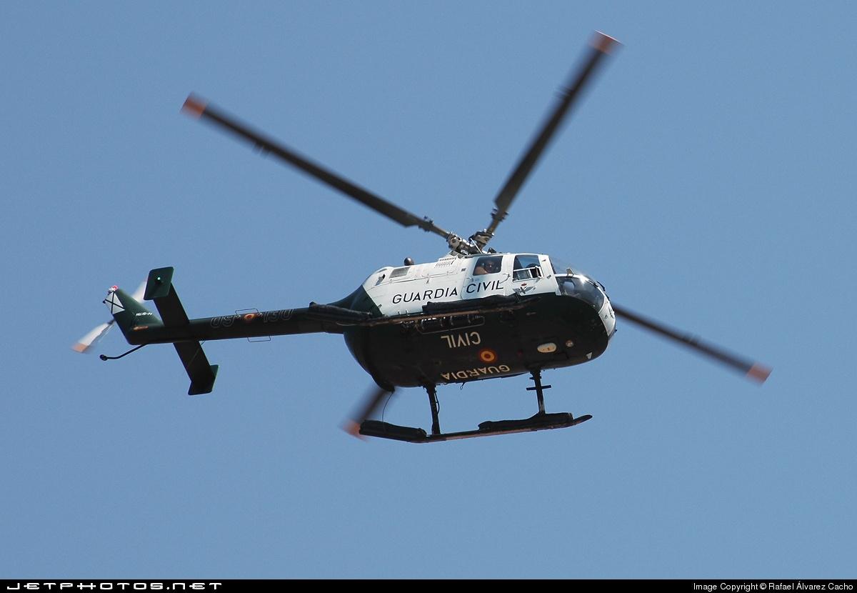 HU.15-71 - MBB Bo105CBS-4 - Spain - Guardia Civil