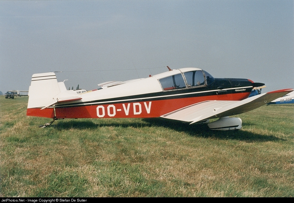 OO-VDV - Jodel DR1050 Ambassadeur - Private