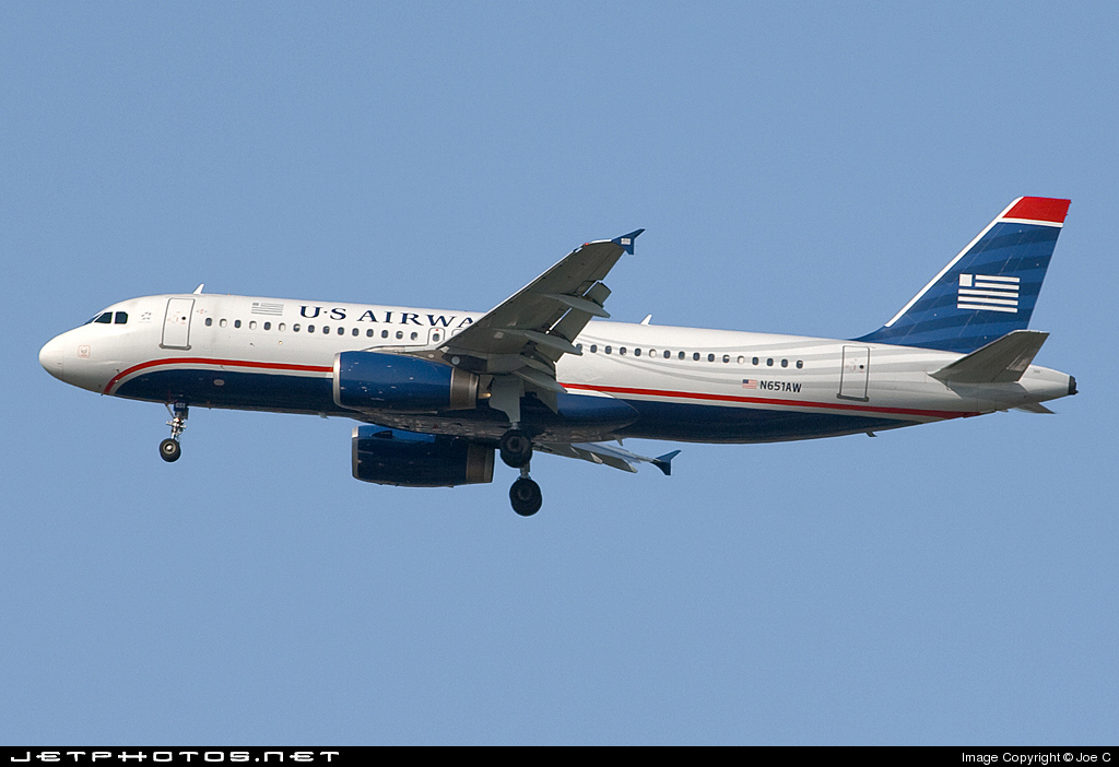 N651AW - Airbus A320-232 - US Airways