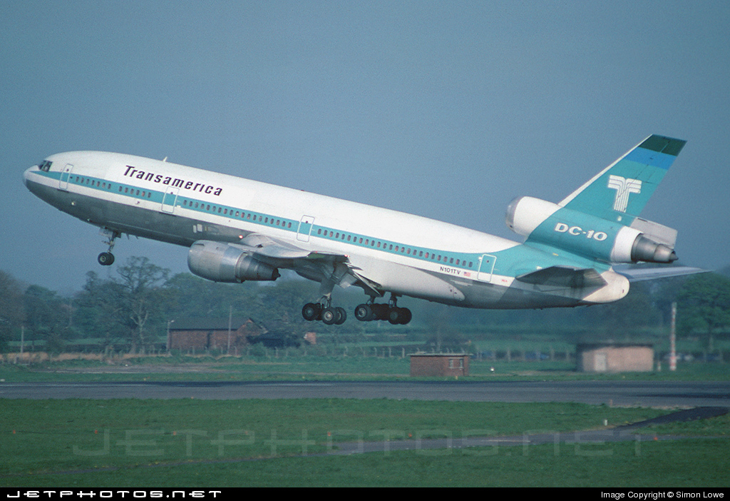 N101TV - McDonnell Douglas DC-10-30(CF) - Transamerica Airlines