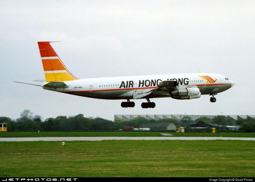 VR-HKK - Boeing 707-336C - Air Hong Kong