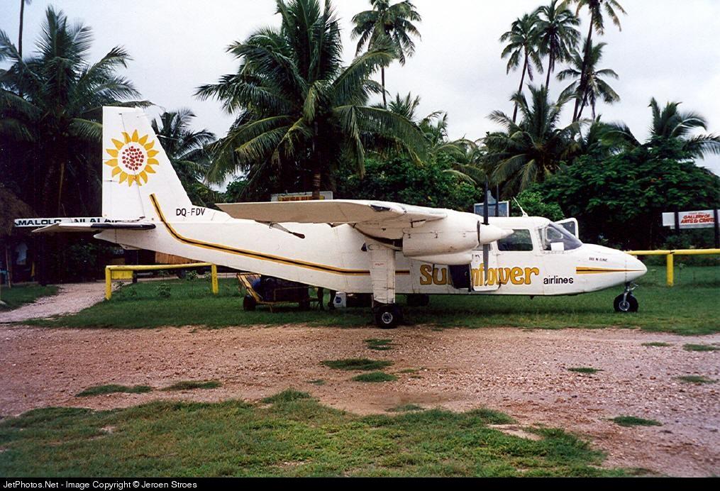 DQ-FDV - Britten-Norman BN-2A Islander - Sunflower Airlines