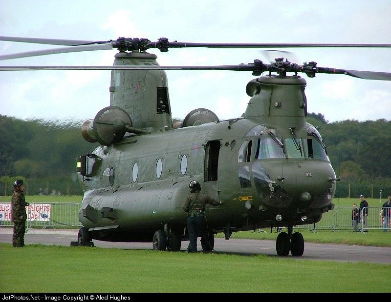 ZA714 - Boeing Chinook HC.2 - United Kingdom - Royal Air Force (RAF)