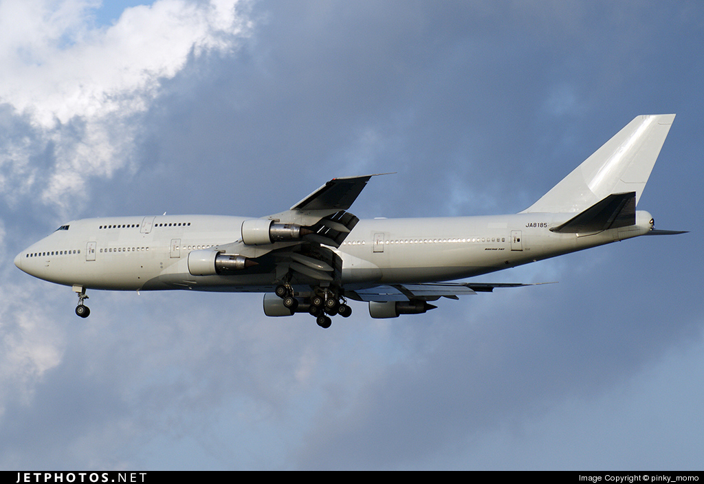 JA8185 - Boeing 747-346 - Japan Asia Airways (JAA)