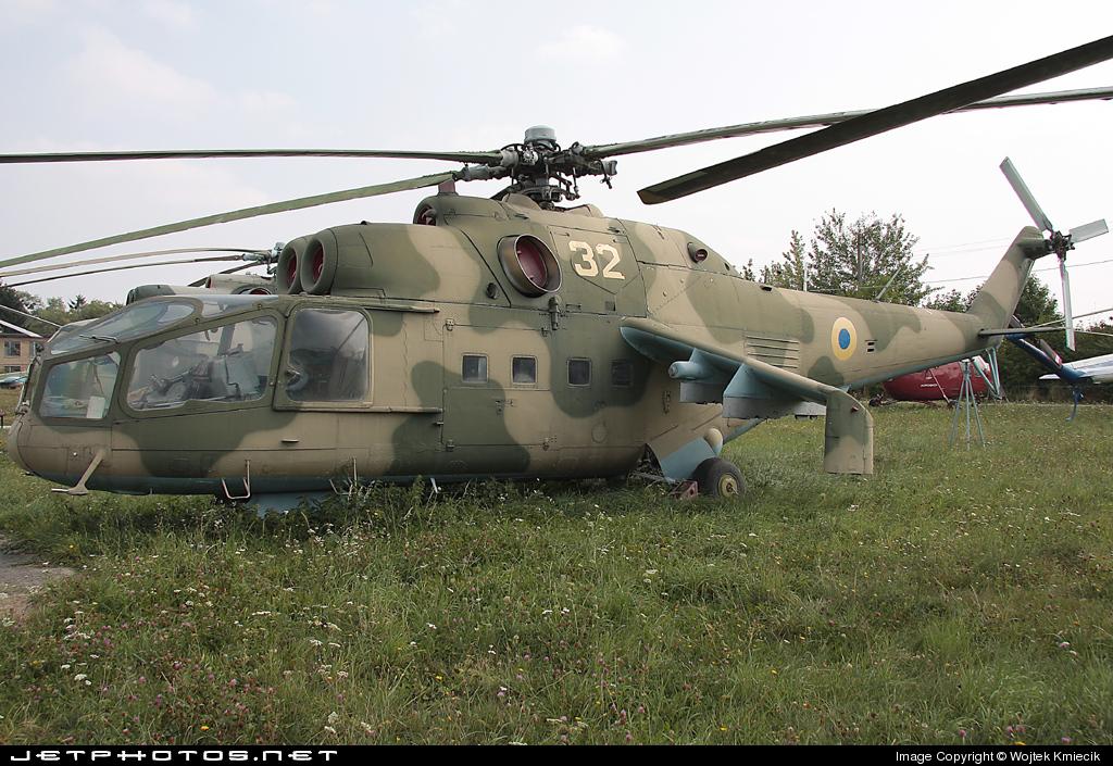 32 - Mil Mi-24 Hind A - Ukraine - Air Force