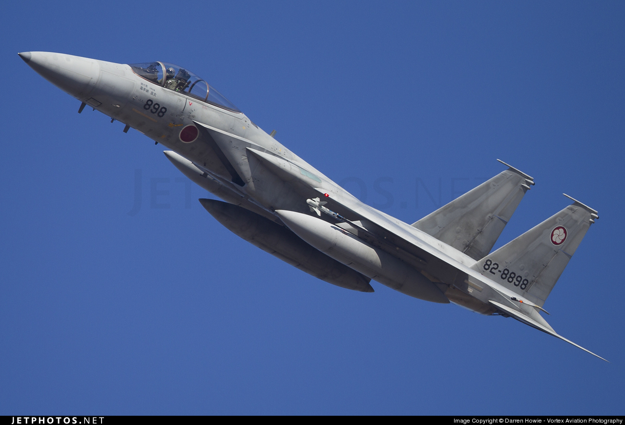 82-8898 - McDonnell Douglas F-15J Eagle - Japan - Air Self Defence Force (JASDF)