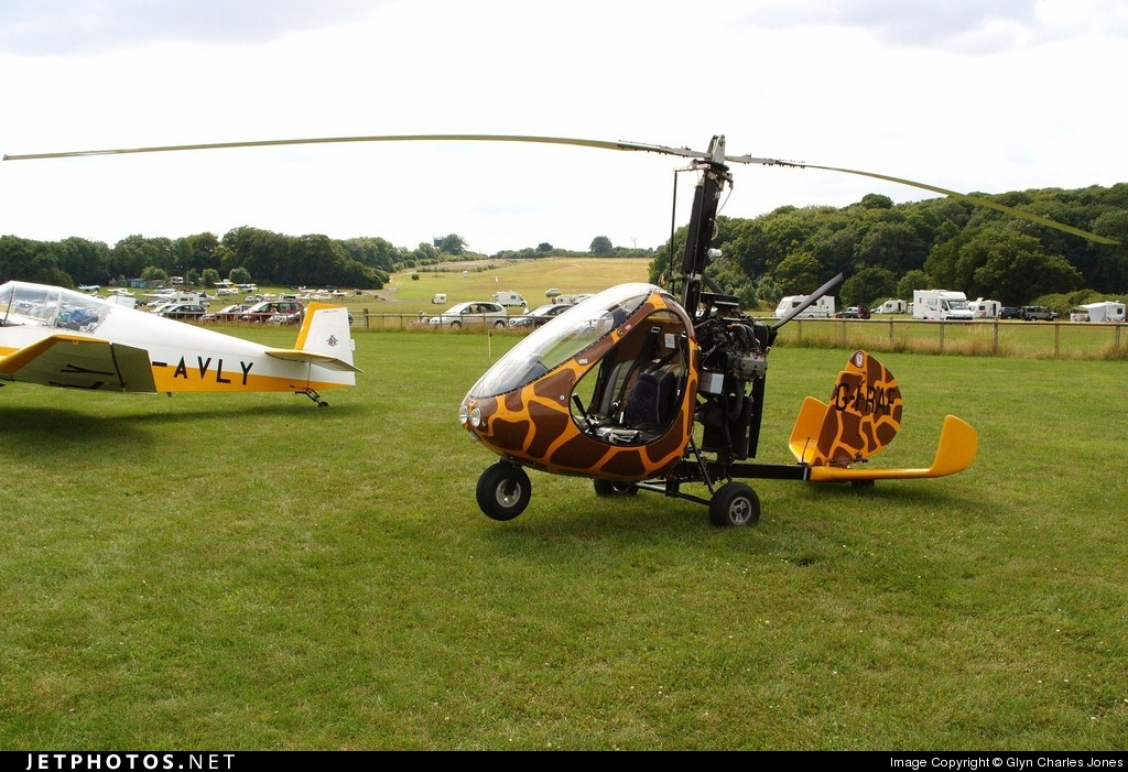 G-IRAF - Rotary Air Force 2000GTX-SE - Private