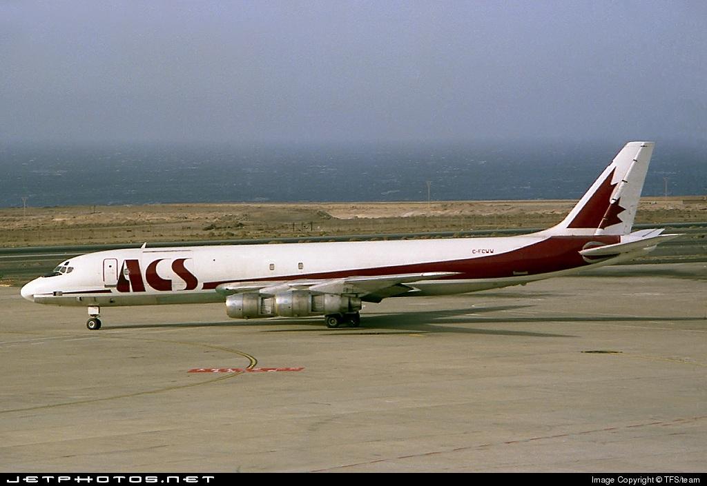 C-FCWW - Douglas DC-8-55(F) - ACS - Air Charter Systems