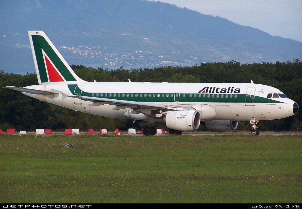 I-BIML - Airbus A319-112 - Alitalia