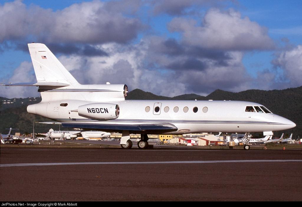 N60CN - Dassault Falcon 50EX - Private