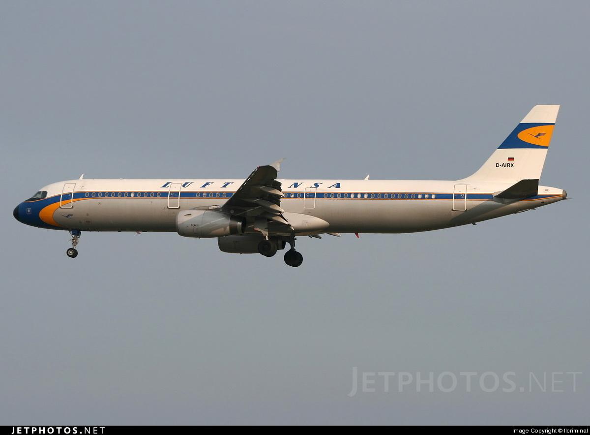 D-AIRX - Airbus A321-131 - Lufthansa