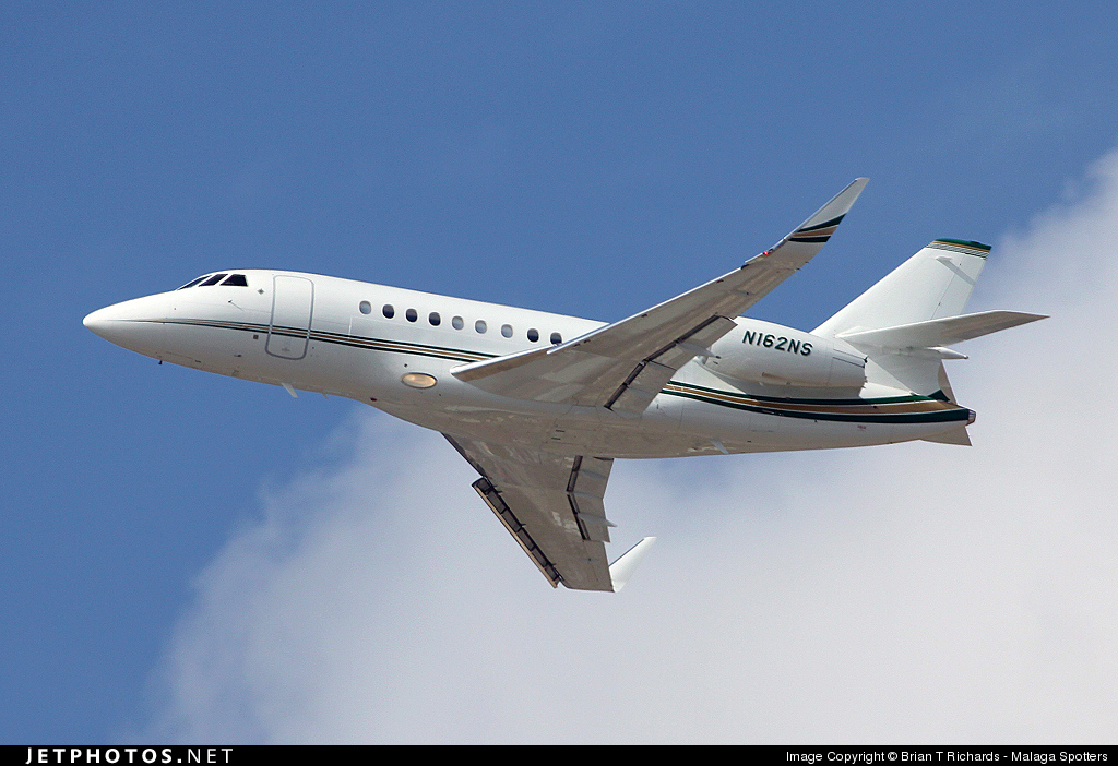 N162NS - Dassault Falcon 2000LX - National Air Services