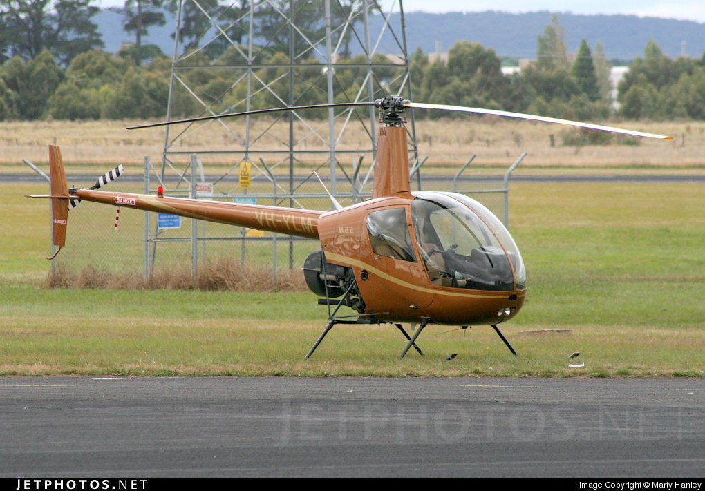 VH-YLM - Robinson R22 Beta II - Private
