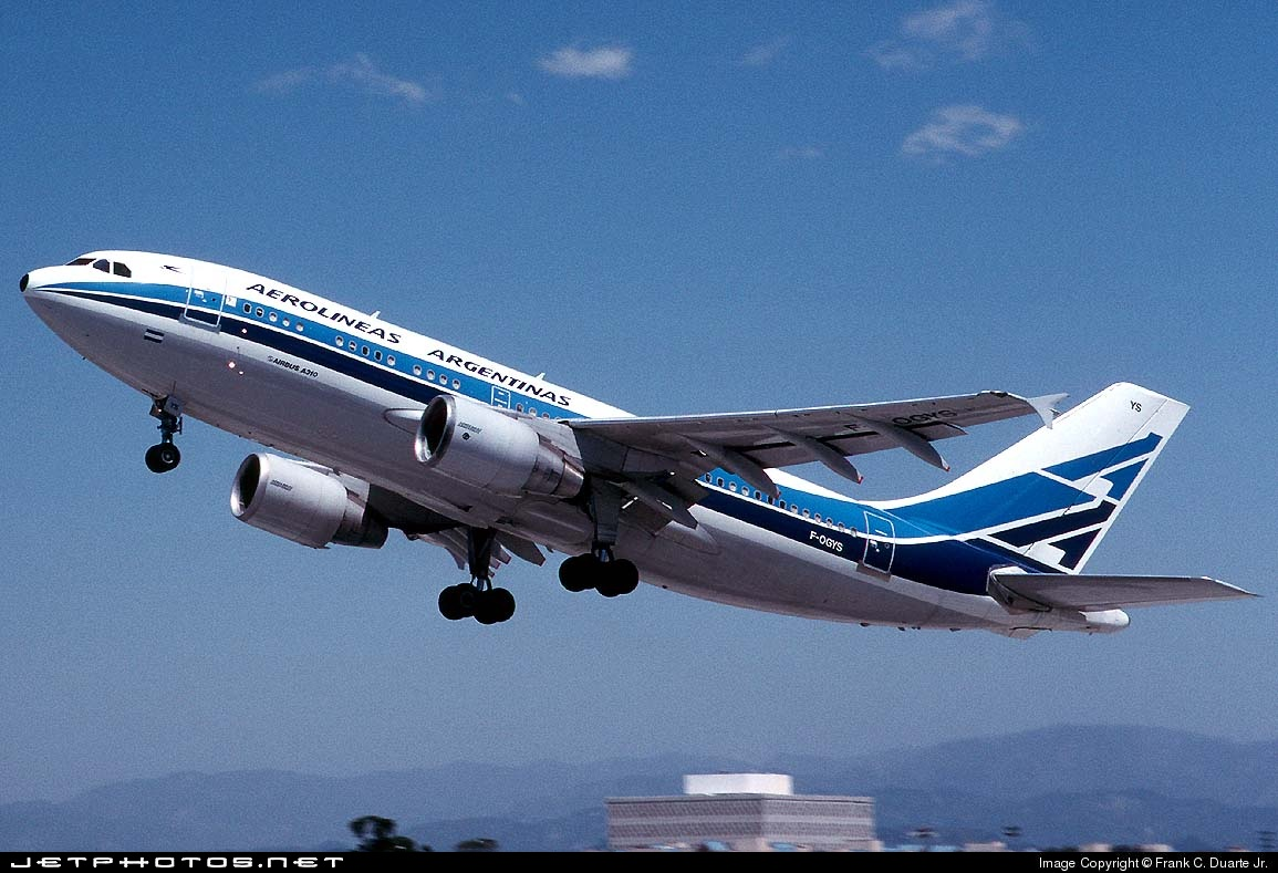 F-OGYS - Airbus A310-324(ET) - Aerolíneas Argentinas