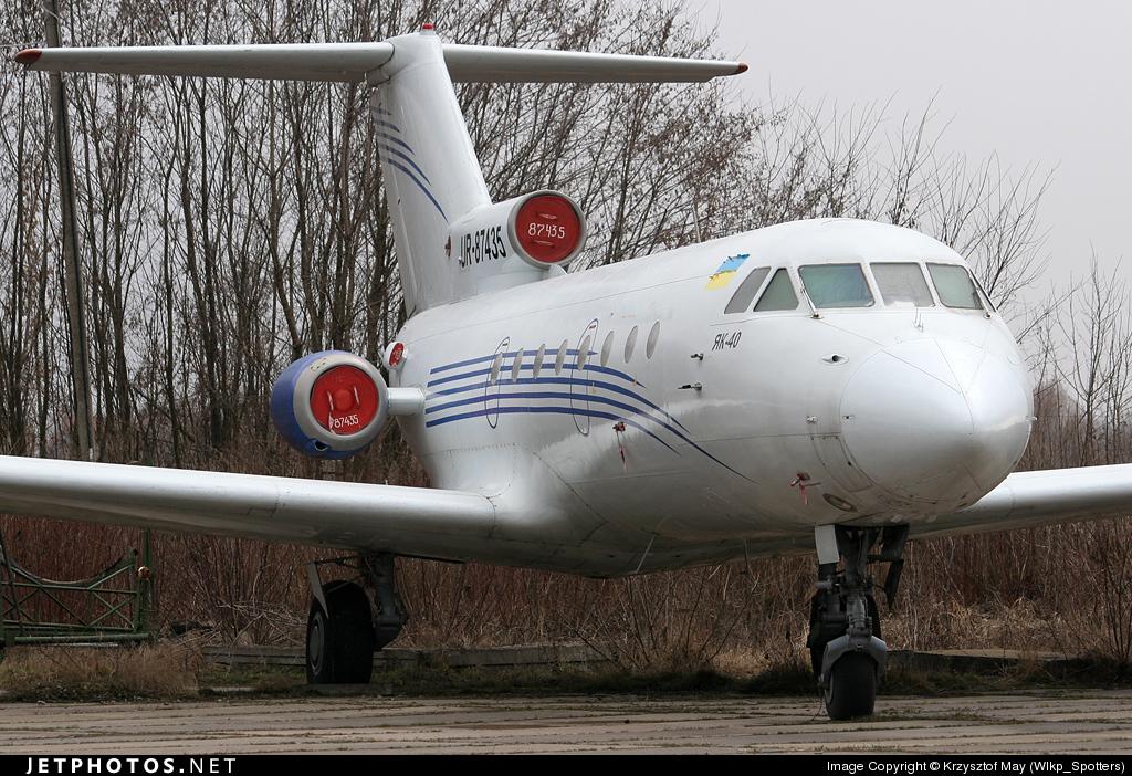 UR-87435 - Yakovlev Yak-40 - Untitled