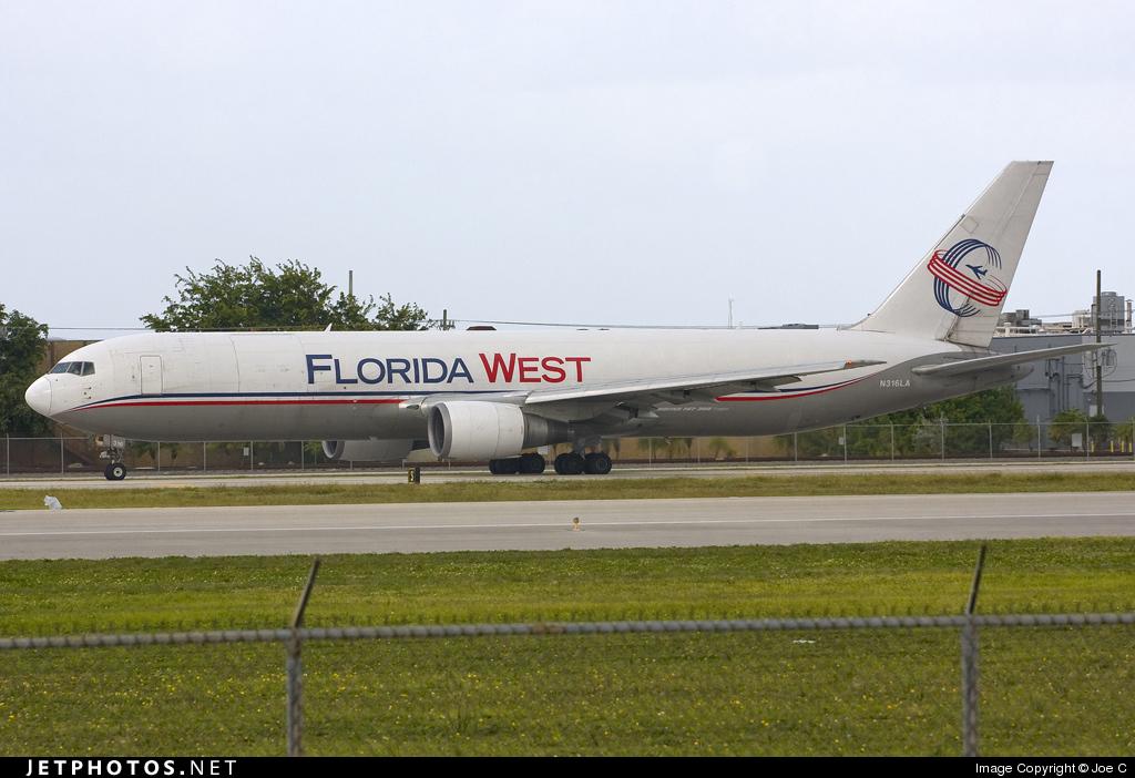 N316LA - Boeing 767-316F(ER) - Florida West International Airways