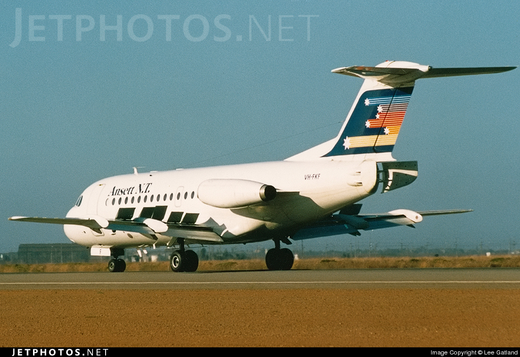 VH-FKF - Fokker F28-1000 Fellowship - Ansett NT