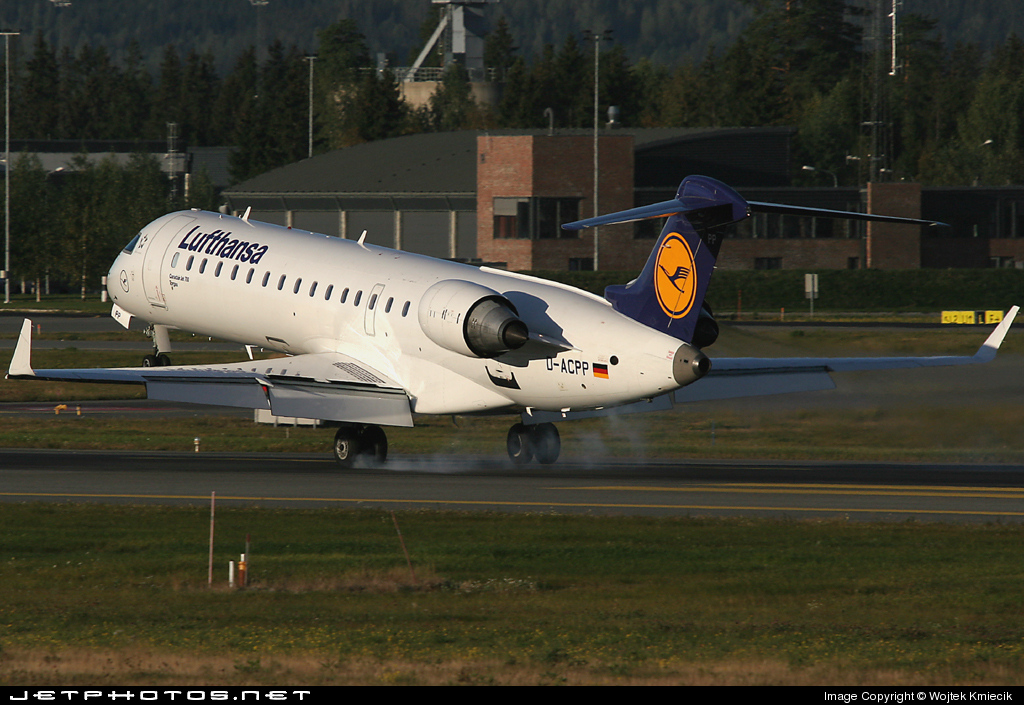 D-ACPP - Bombardier CRJ-701ER - Lufthansa CityLine