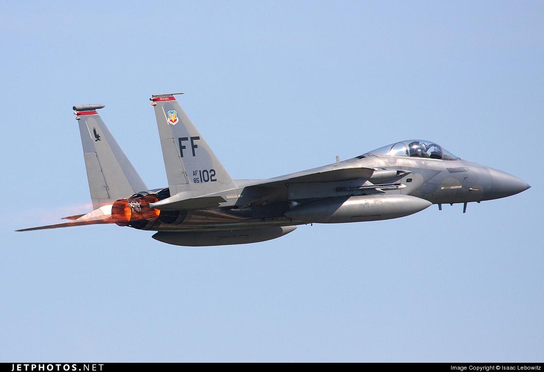 85-0102 - McDonnell Douglas F-15C Eagle - United States - US Air Force (USAF)