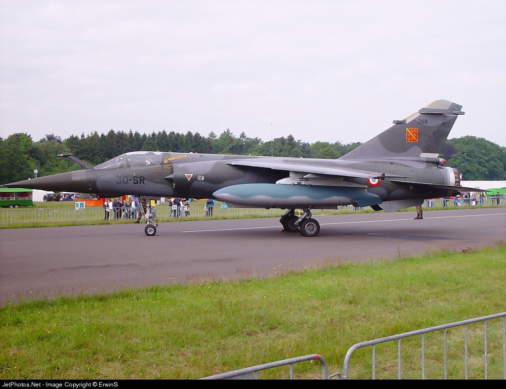 268 - Dassault Mirage F1CT - France - Air Force