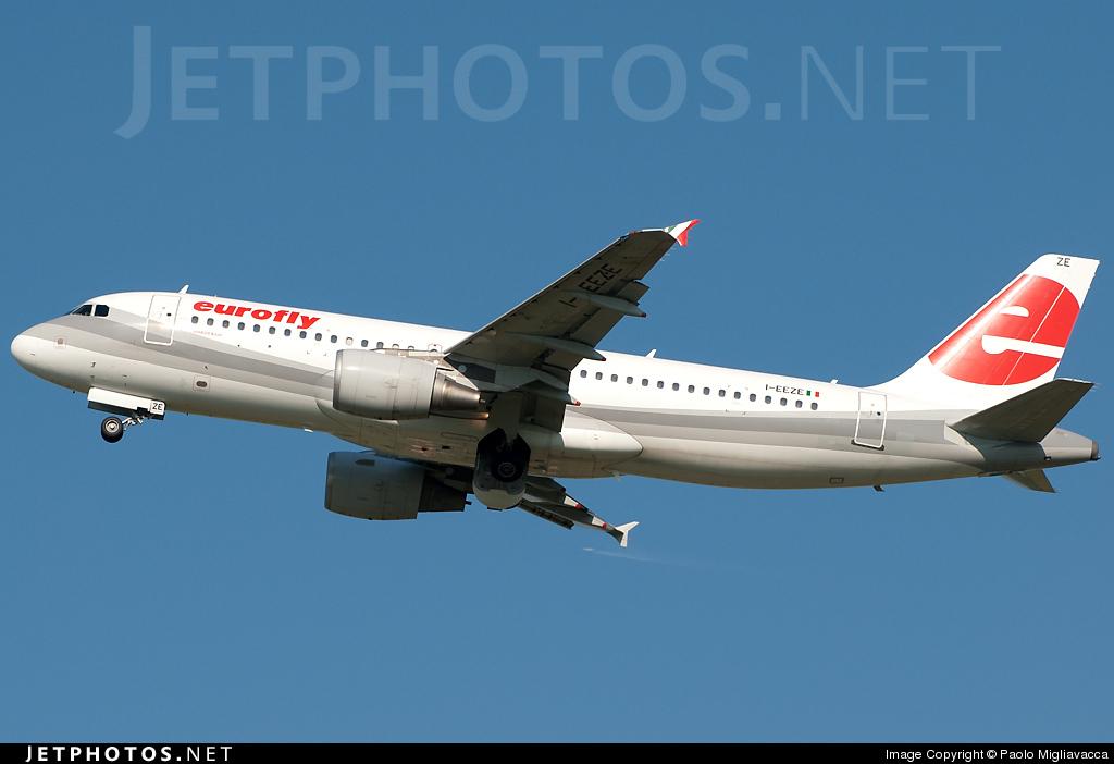 I-EEZE - Airbus A320-214 - Eurofly