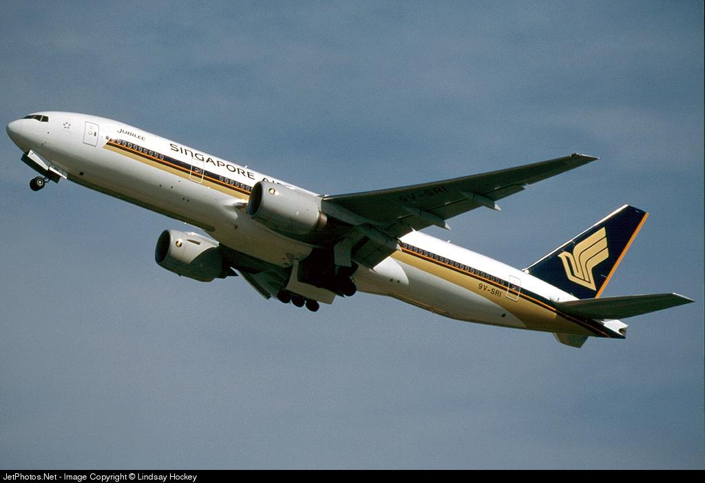 9V-SRI - Boeing 777-212(ER) - Singapore Airlines