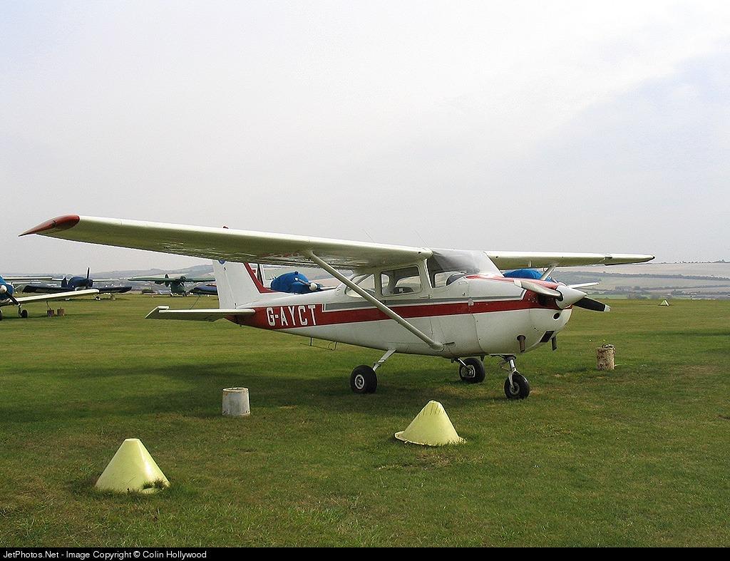 G-AYCT - Reims-Cessna F172H Skyhawk - Private