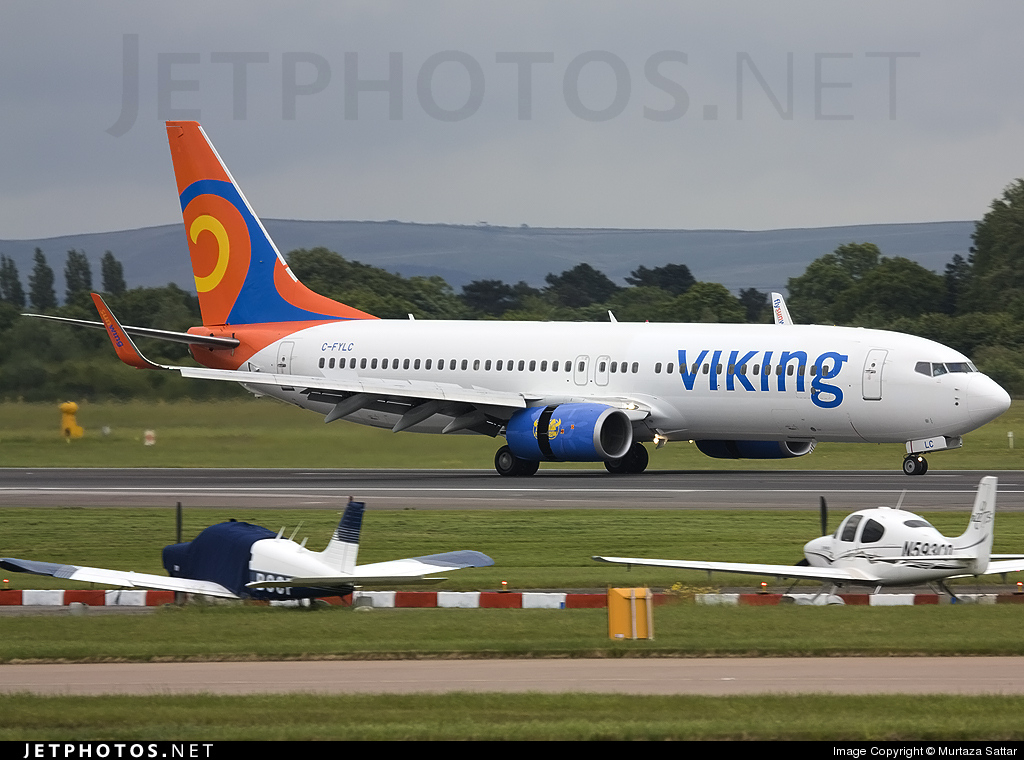 C-FYLC - Boeing 737-8BK - Viking Airlines (Sunwing Airlines)