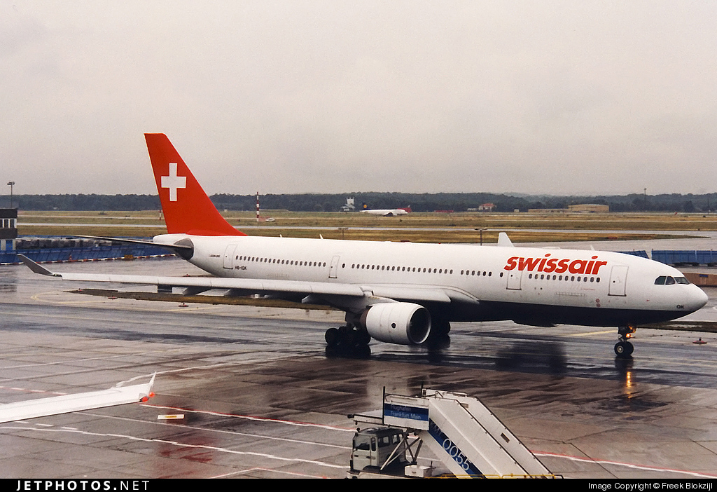 HB-IQK - Airbus A330-223 - Swissair